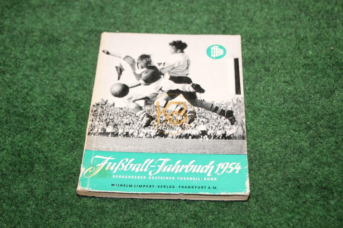Fußball Jahrbuch 1954 Herausgeber Deutscher Fußballbund