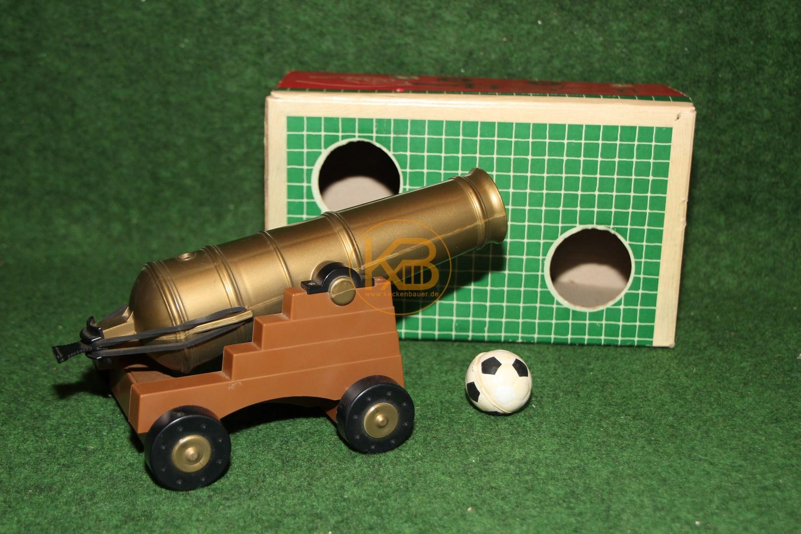 Fußball Torwand Kanone um 1968 von Tippco 1/2
