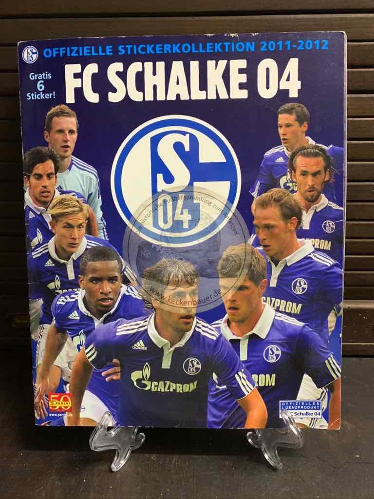Panini FC Schalke 04 Sammelalbum von 2011 - 2012