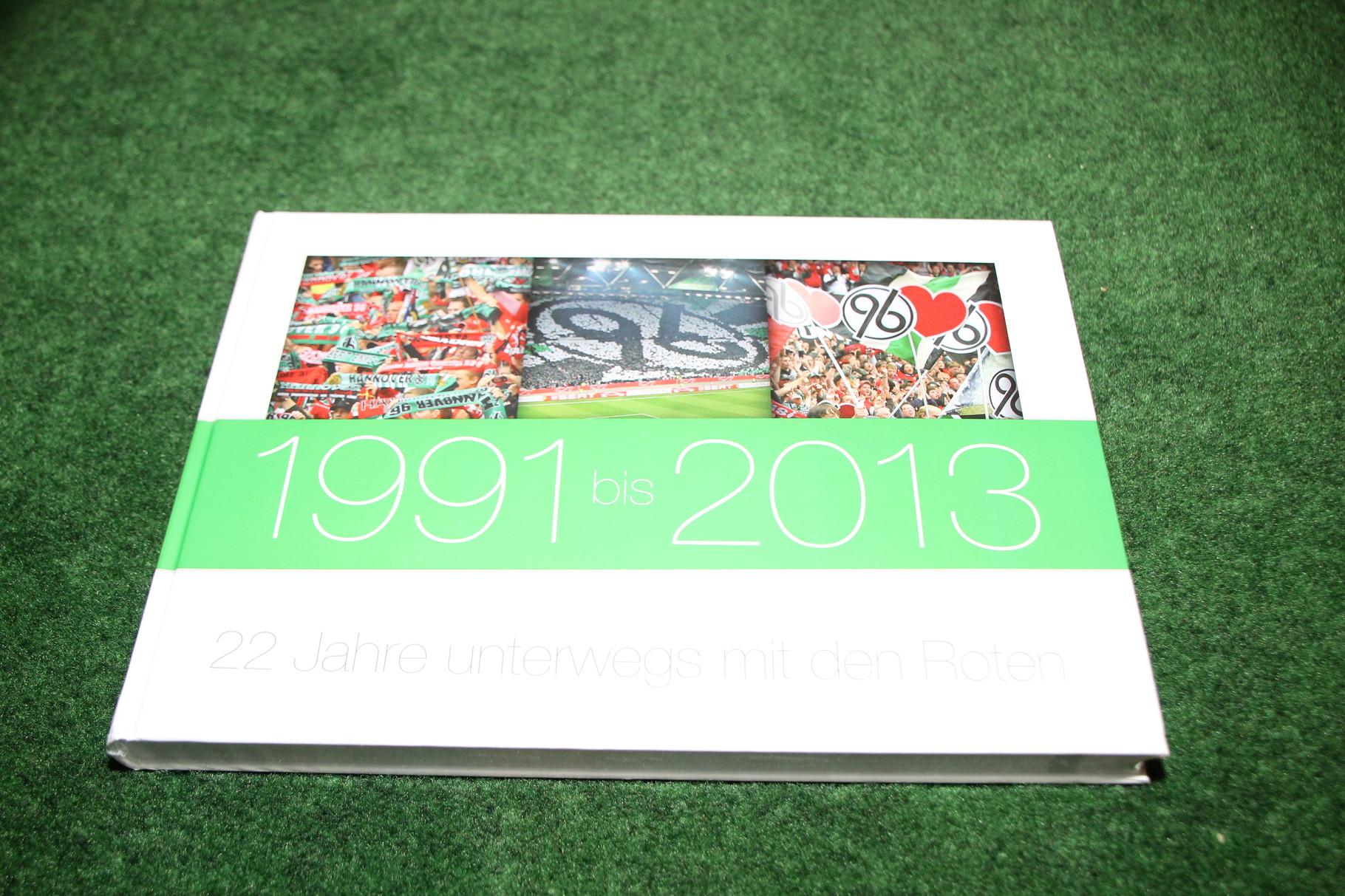 1991 bis 2013 22 Jahre unterwegs mit den Roten.