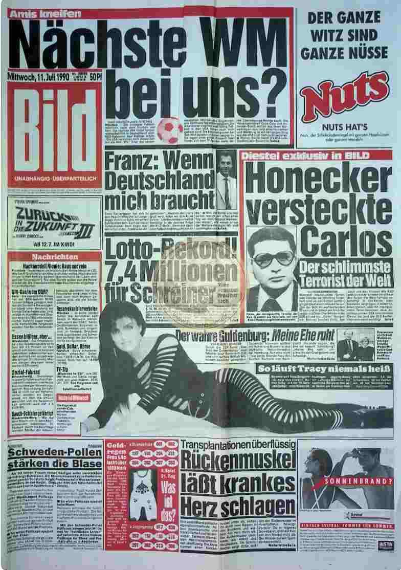1990 Juli 11. Bildzeitung