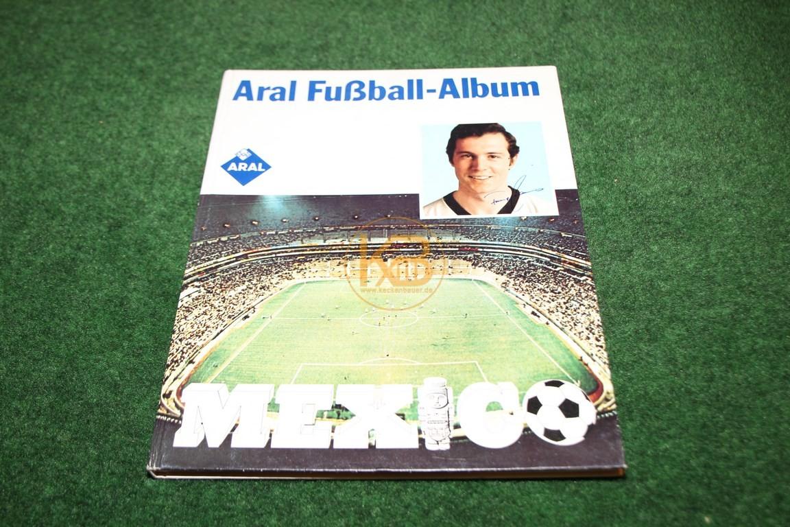 ARAL Fußball Album zur Weltmeistershaft in Mexiko.