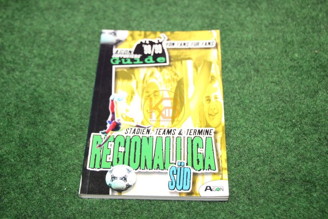 Regionalliga Süd 98/99 von Fans für Fans vom Agon Verlag