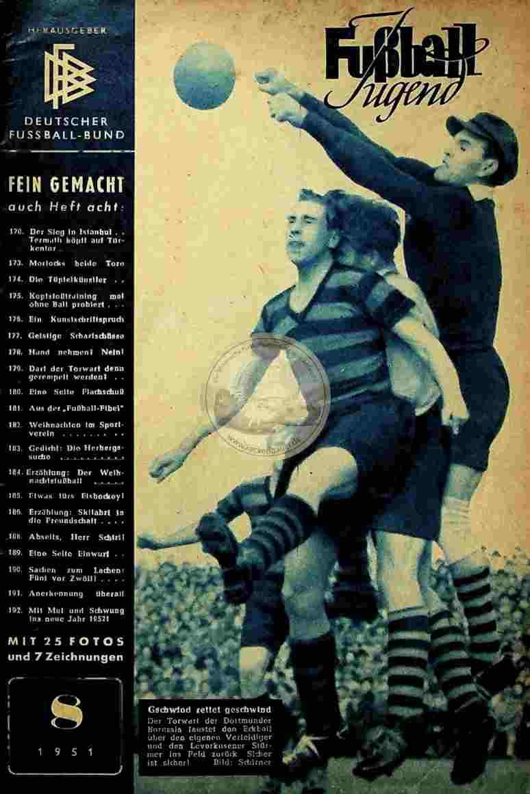 1951 August Fußball Jugend
