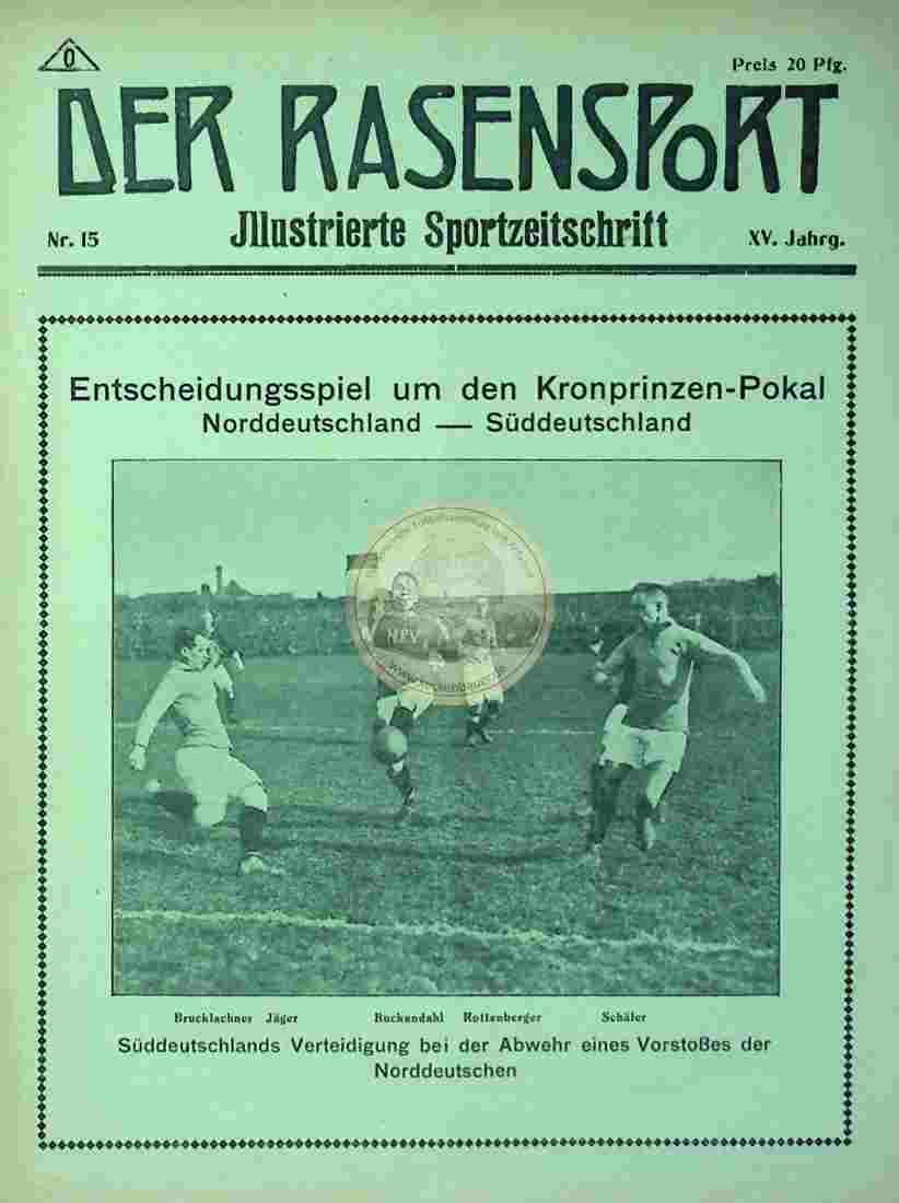 1917 April 11. Der Rasensport Nr. 15