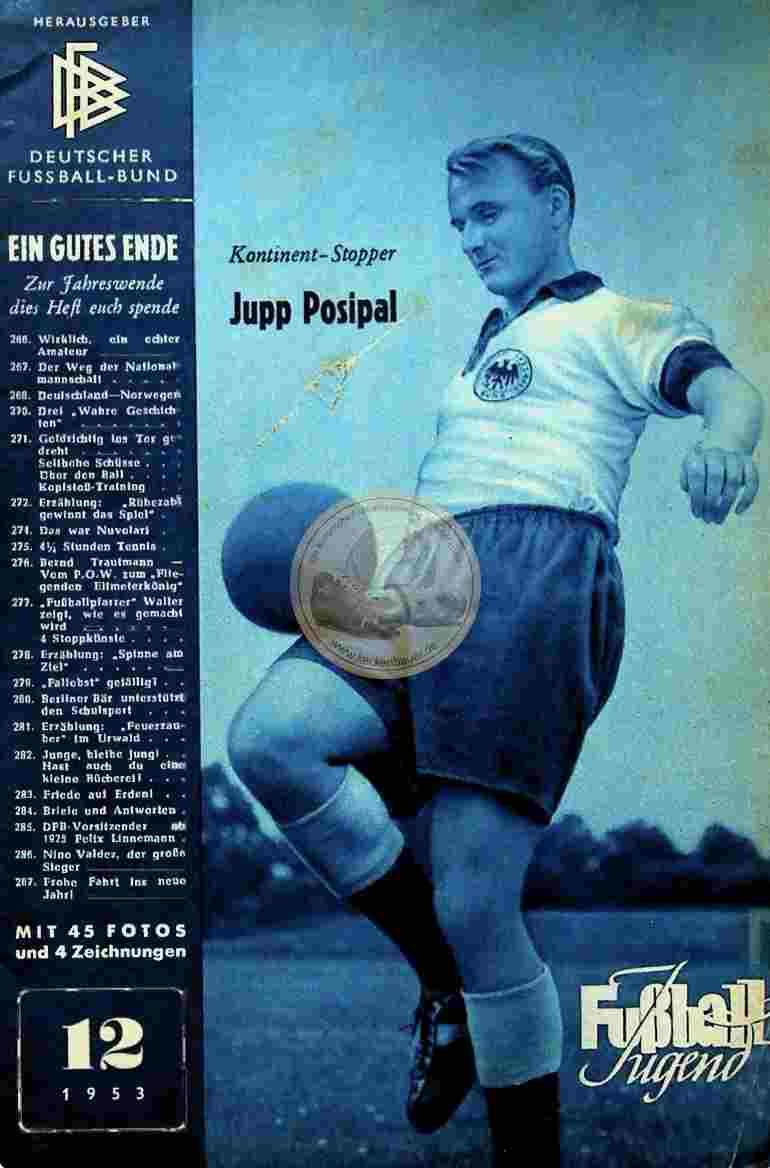 1953 Dezember Fußball Jugend