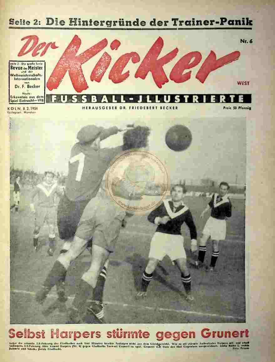 1954 Februar 8. Kicker Nr. 6