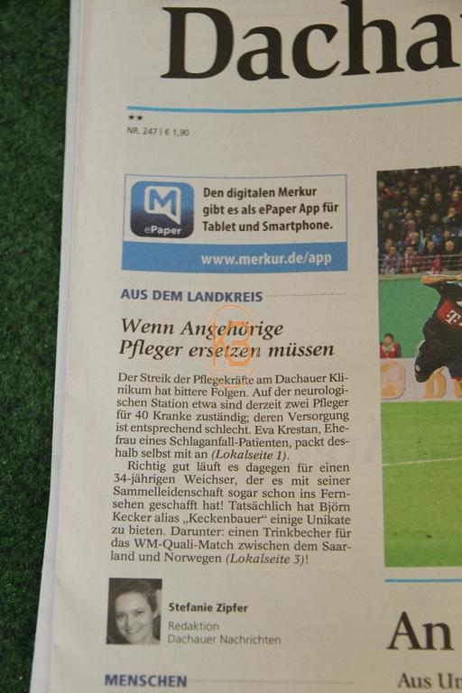 Dachauer Nachrichten / Münchener Merkur vom 26.10.2017