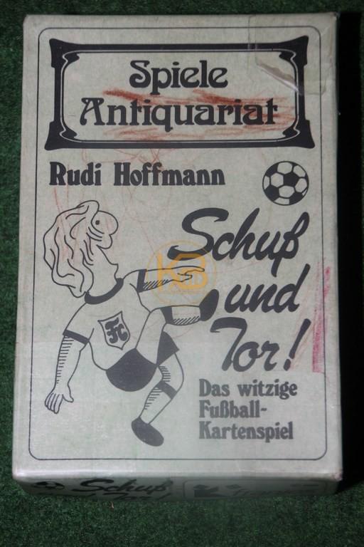 Rudi Hoffmann Schuß und Tor