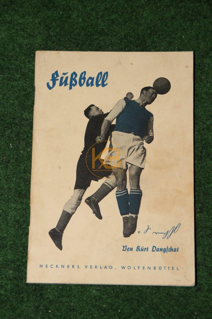 Fußball von Kurt Dangschat Sportheft in Deutscher Kurzschrift aus dem Jahr 1938.