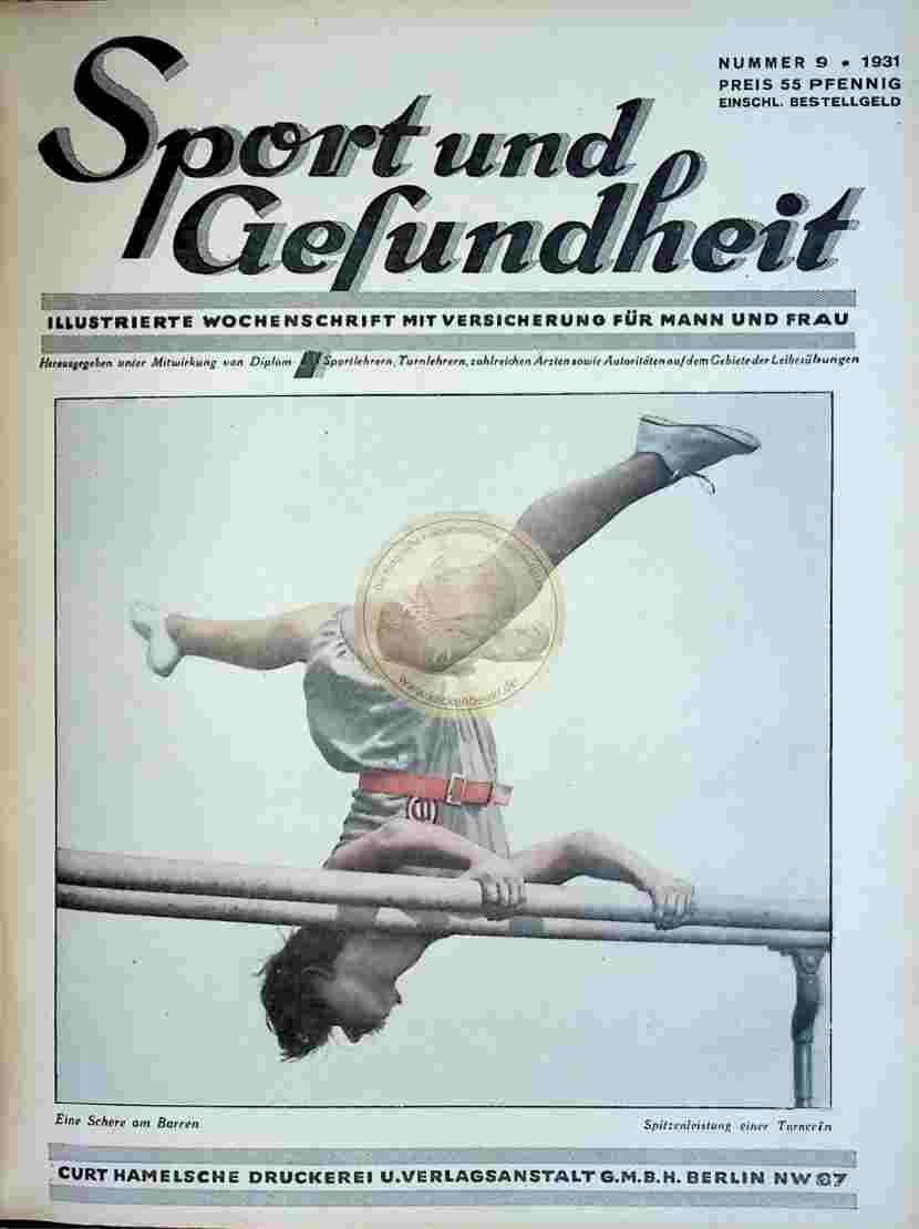 1931 Sport und Gesundheit Nr.9