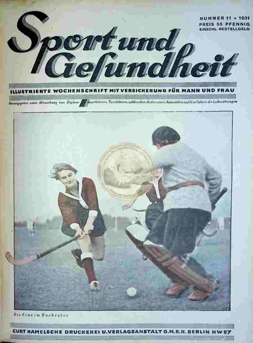 1931 Sport und Gesundheit Nr.11