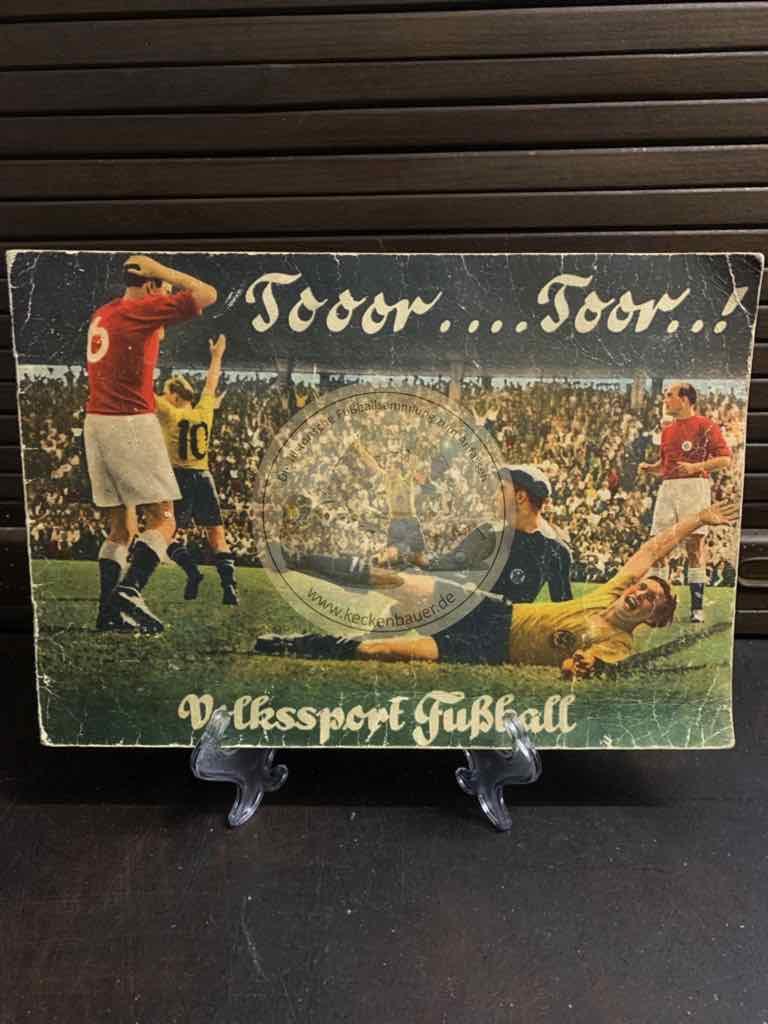 Tooor.Toor.! Volkssport Fußball Sammelalbum von Kauvit aus dem Jahr 1951