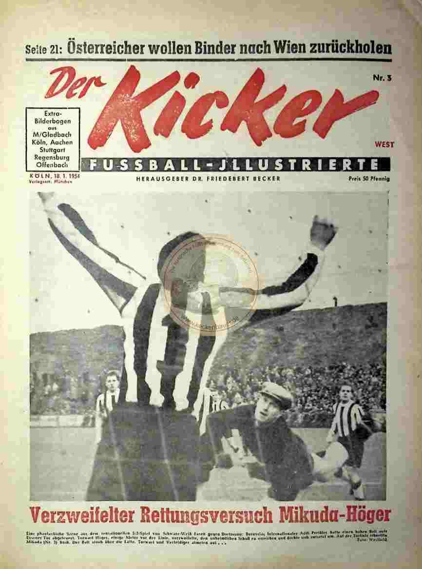 1954 Januar 18. Kicker Nr.3