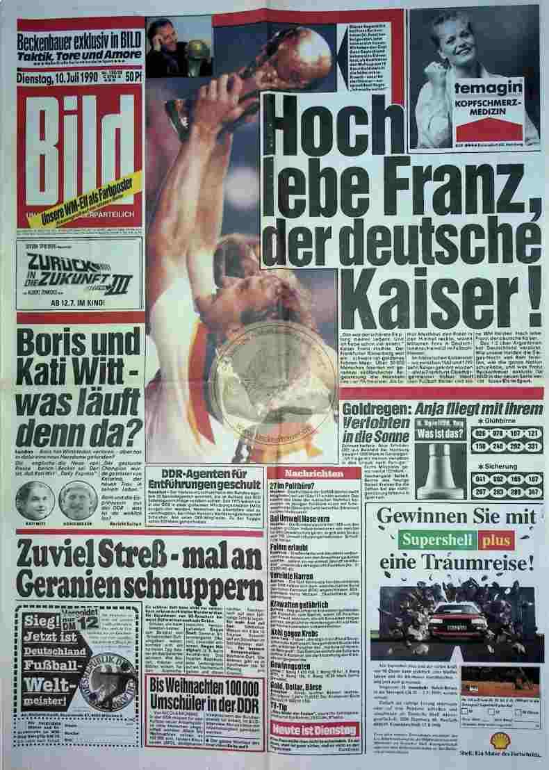 1990 Juli 10. Bildzeitung