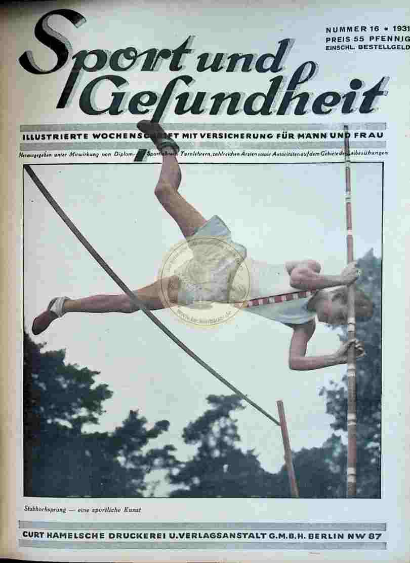 1931 Sport und Gesundheit Nr.16