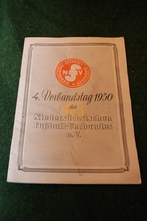 4. Verbandstag 1950 des Niedersächsischen Fußball Verbandes e.V.