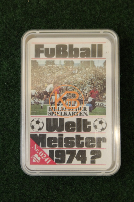 Bielefelder Spielkarten 0241 Quartett Fußball Weltmeister 1974
