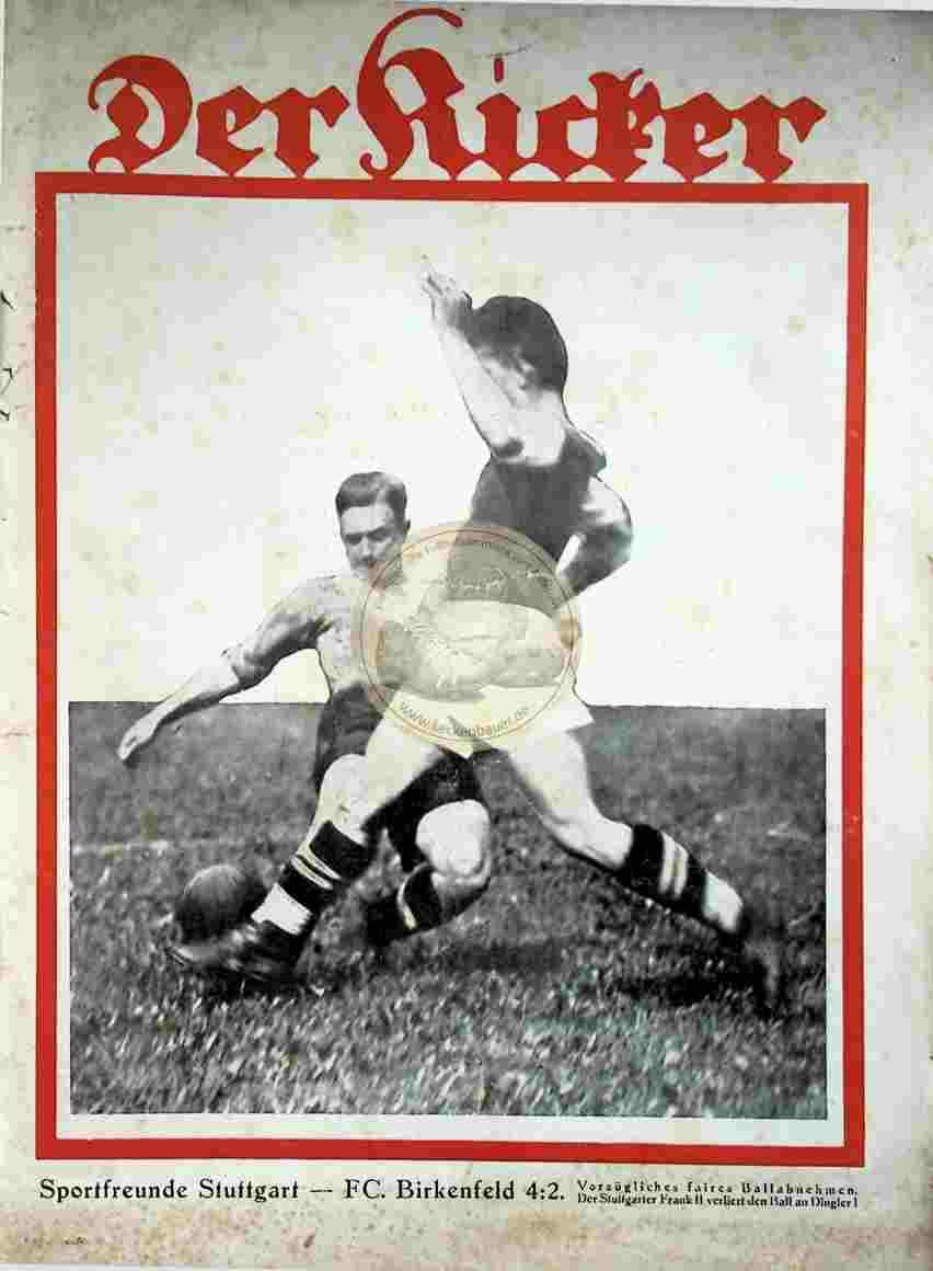 1929 August 27. Kicker Nr. 35