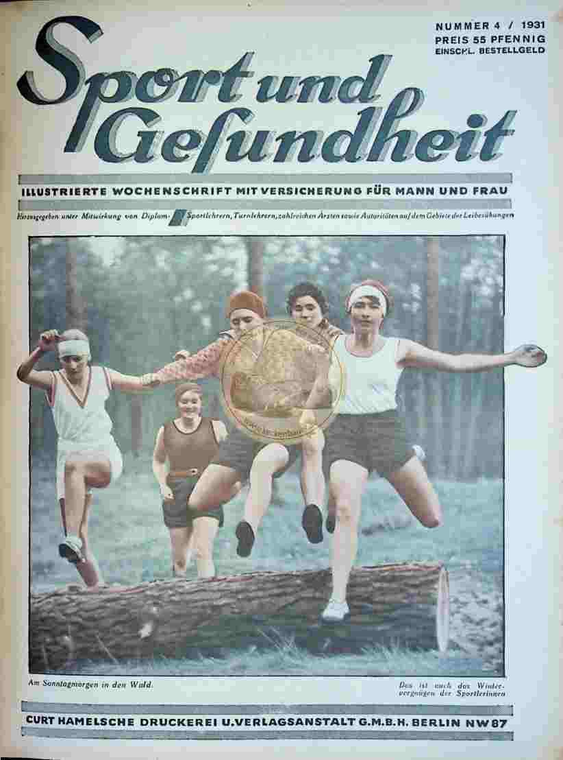 1931 Sport und Gesundheit Nr.4