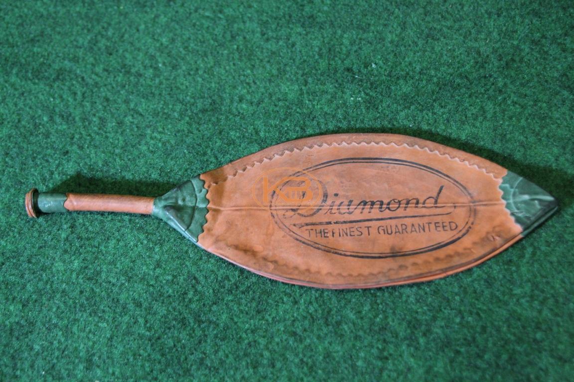 """Alte ungenutzte Ballblase """"Diamond"""" aus den 1930ern"""