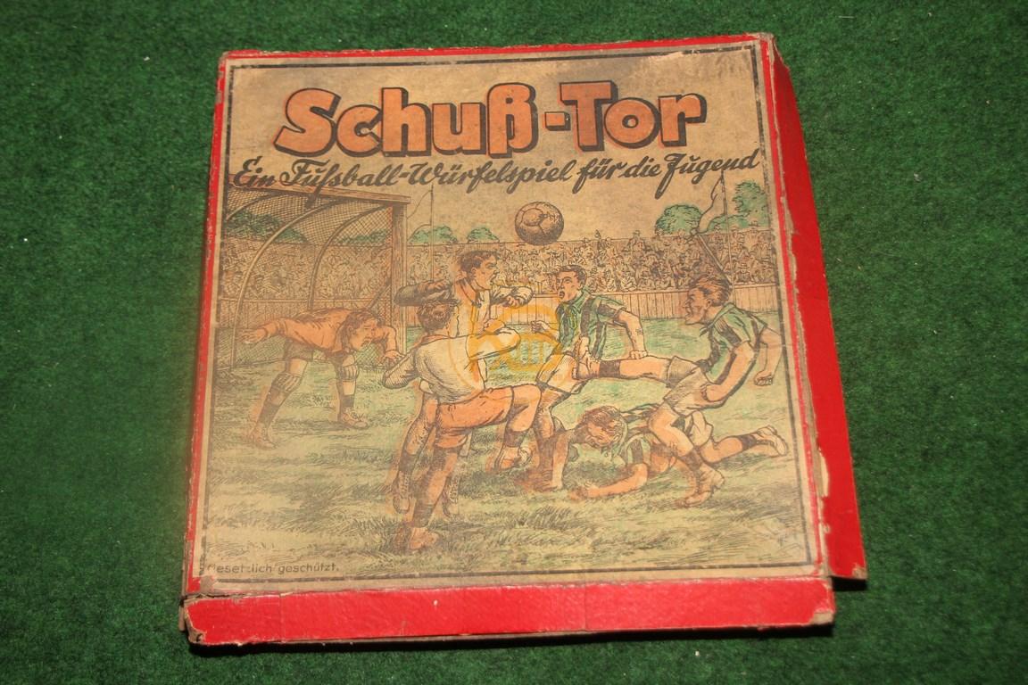 Schuß - Tor Ein Fußball Würfelspiel für die Jugend aus den 1930ern