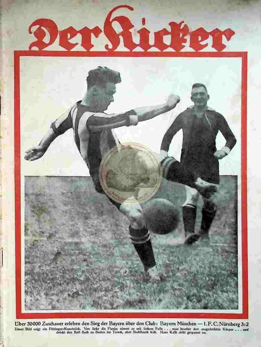 1929 Mai 14. Kicker Nr. 20