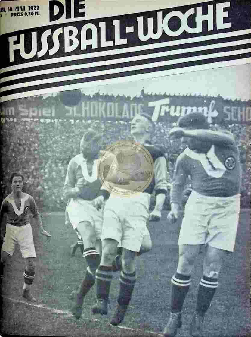 1927 Mai 30. Fussball-Woche Nr. 43