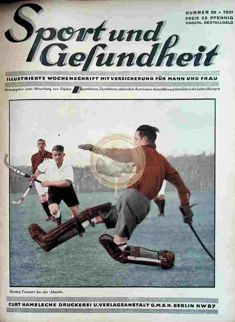 1931 Sport und Gesundheit Nr.28