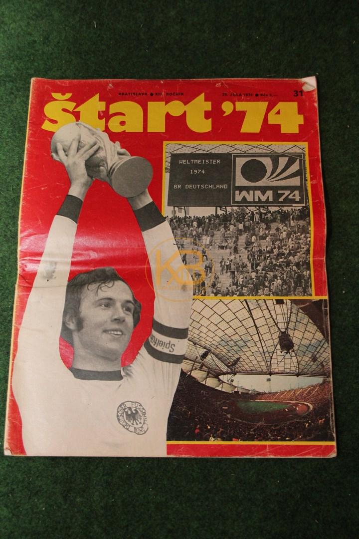 Start ´74 vom 29. Juli 1974 aus Bratislava