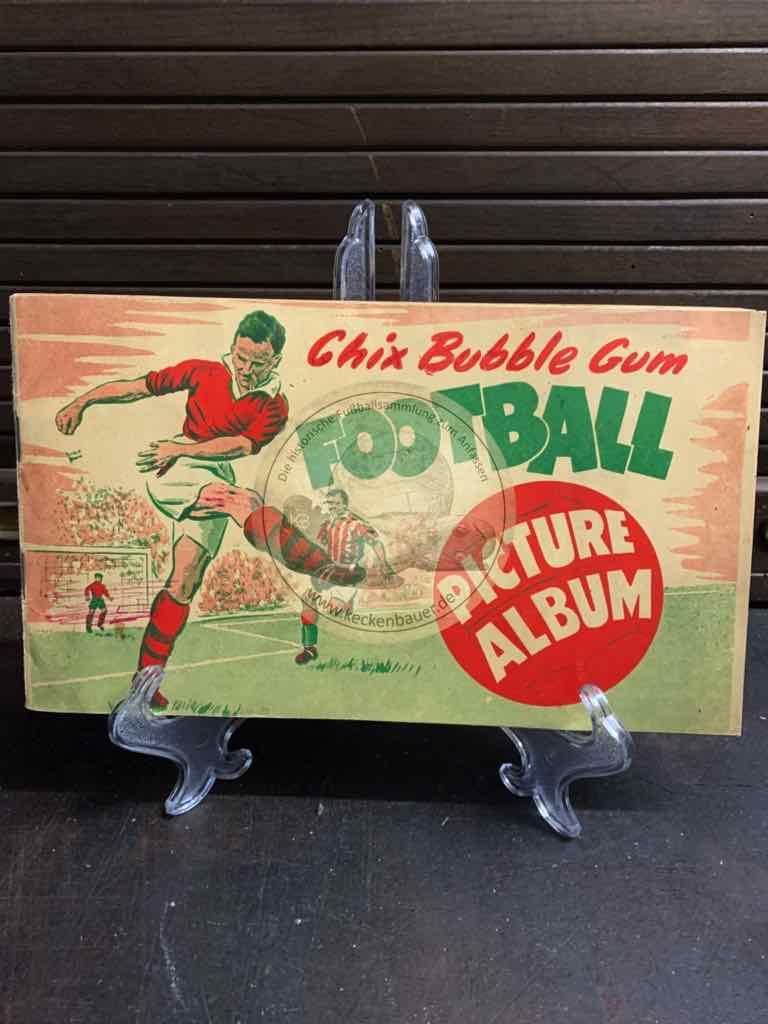 Sammelalbum Chic Bubble Gum Football Picture Album aus den 1950er Jahren.
