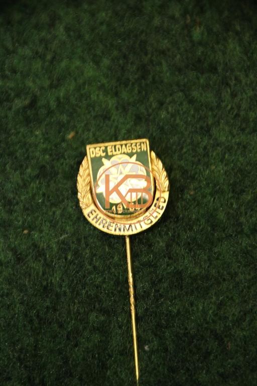 Ehrenmitgliedsnadel vom DSC Eldagsen 1964