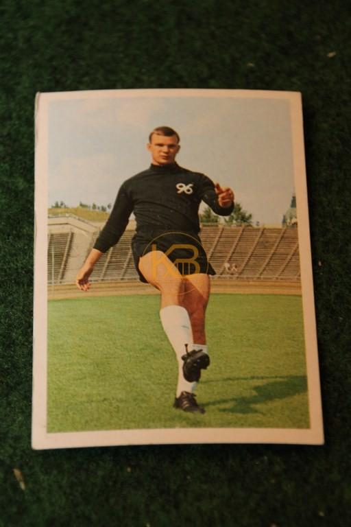 Bergmann Sammelbild von Horst Podlasly Hannover 96 Saison 68/69.