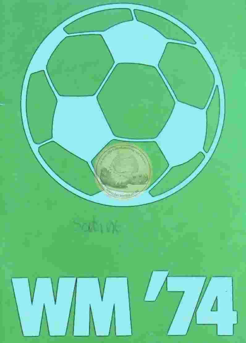 1974 WM Infoheft München