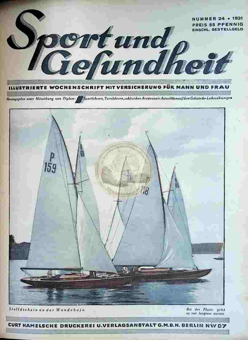1931 Sport und Gesundheit Nr.24