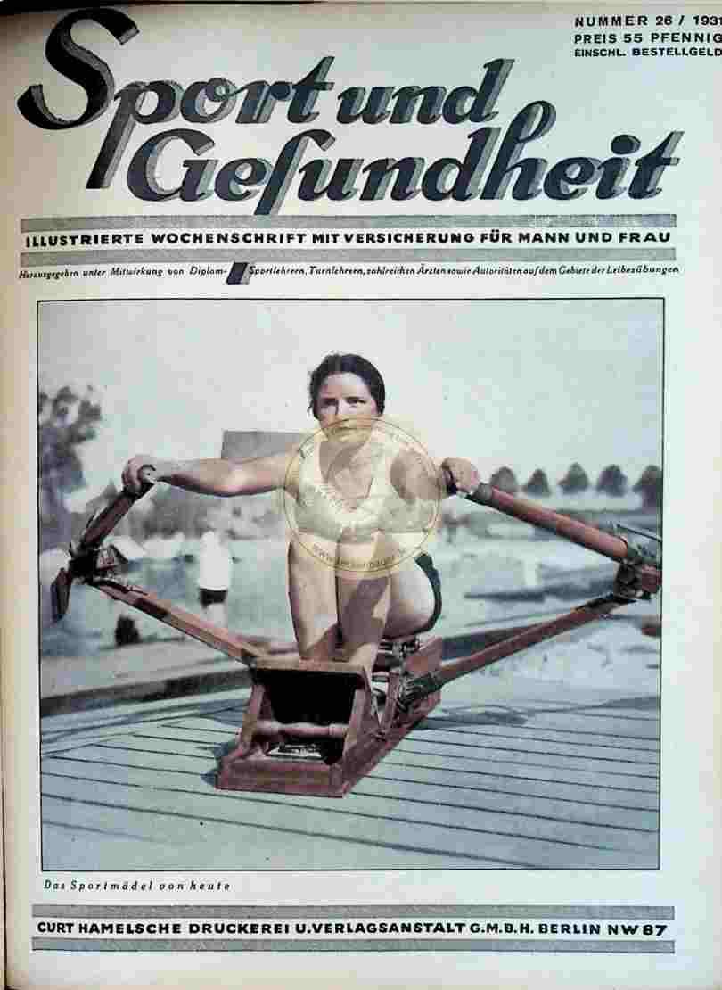 1931 Sport und Gesundheit Nr.26