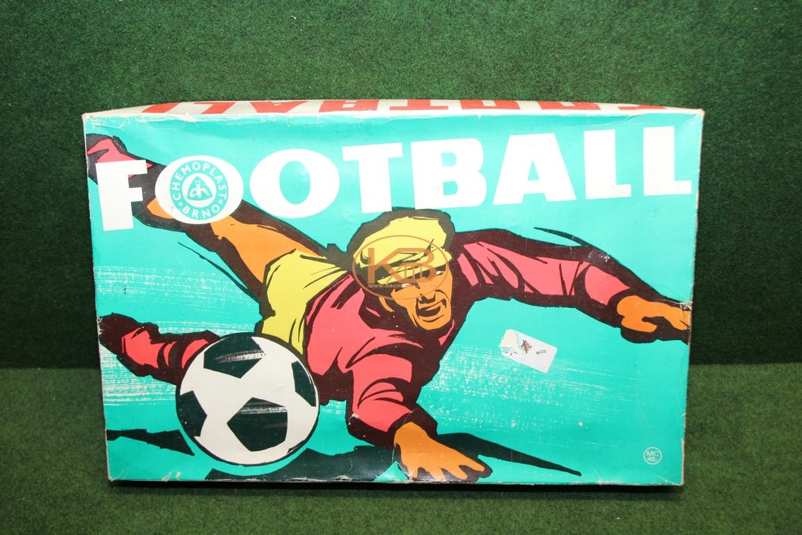 Altes Fußball Tischspiel aus den 1960er Jahren von Chemoplast