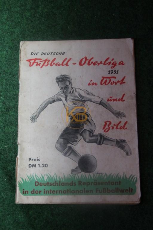 Die Deutsche Fußball-Oberliga 1951 in Wort und Bild