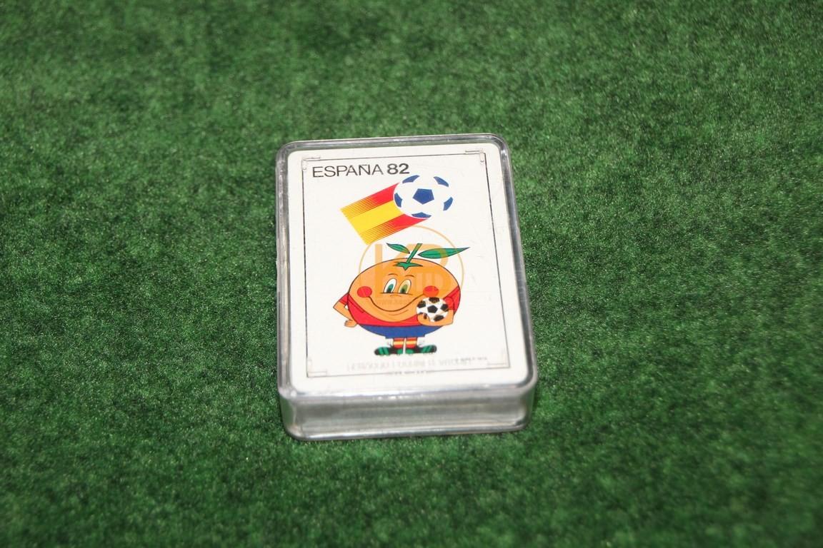 Skat Blatt zur WM 1982 in Spanien.