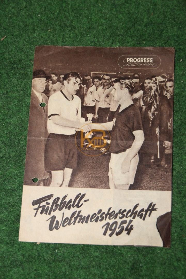 Fernsehprogramm zur Fußball Weltmeisterschaft 1954