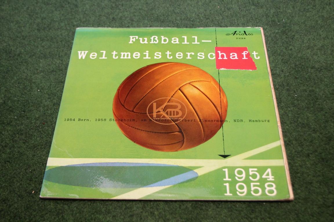 LP über die Fußball Weltmeisterschaften 1954 und 1958