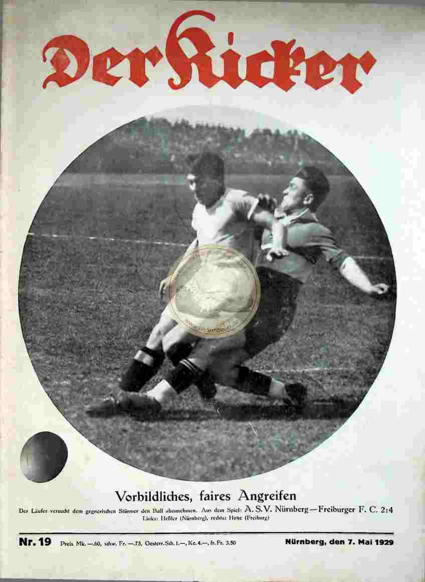 1929 Mai 07. Kicker Nr. 19