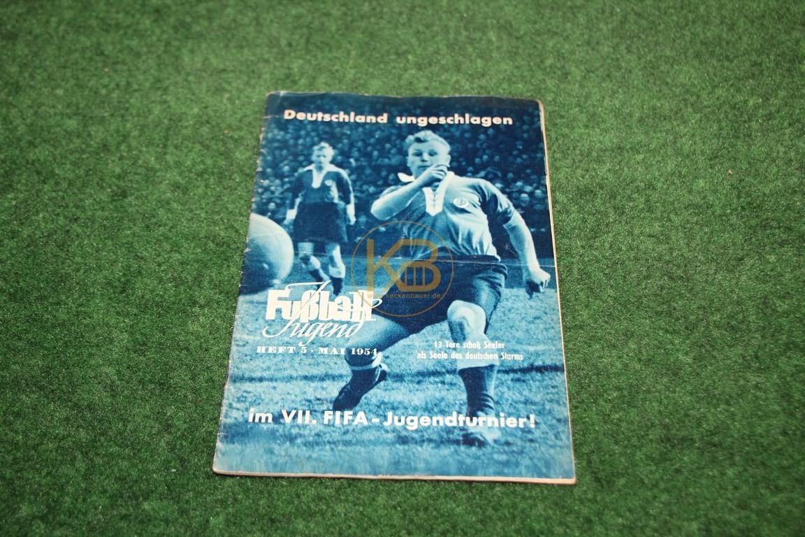 Fußball Jugend Mai 1954.