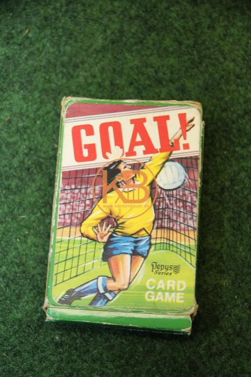 """Altes Kartenspiel """"Goal"""" von Plepys Game Card"""