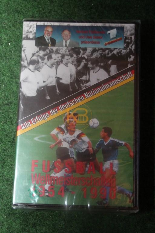 VHS Alle Erfolge der deutschen Nationalmannschaft 1954 - 1990