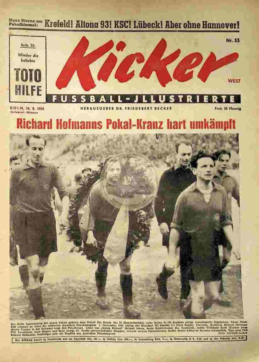 1954 August 16. Kicker Nr.33