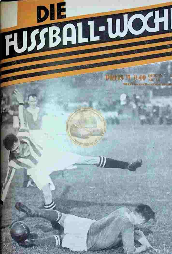 1927 August 17. Fussball-Woche Nr. 66