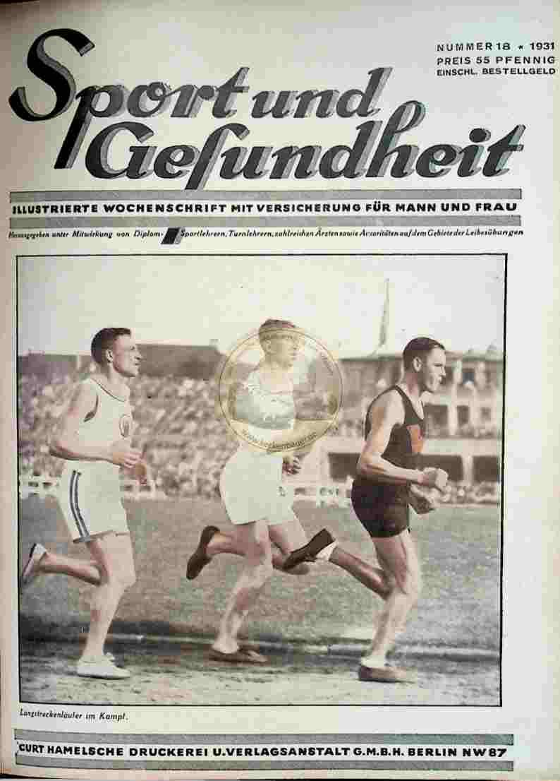 1931 Sport und Gesundheit Nr.18
