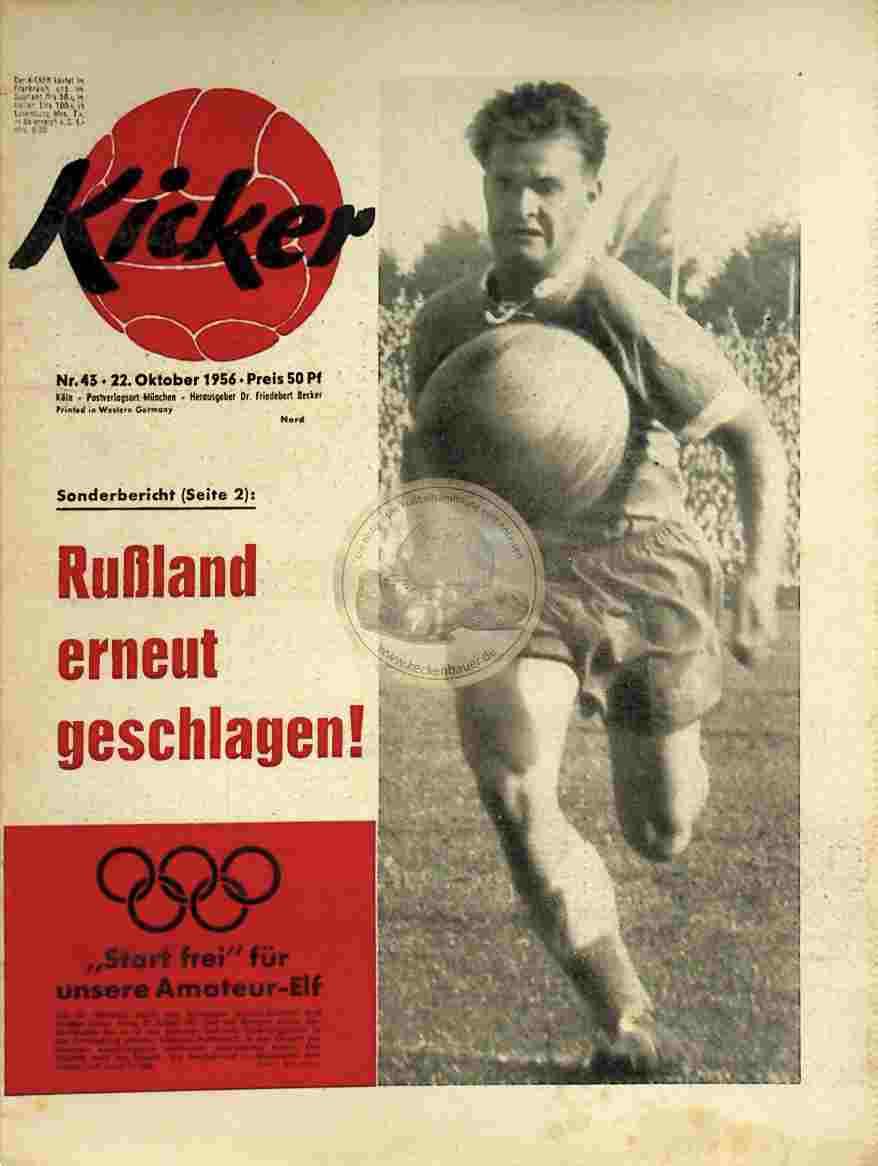 1956 Oktober 22. Kicker Nr. 43