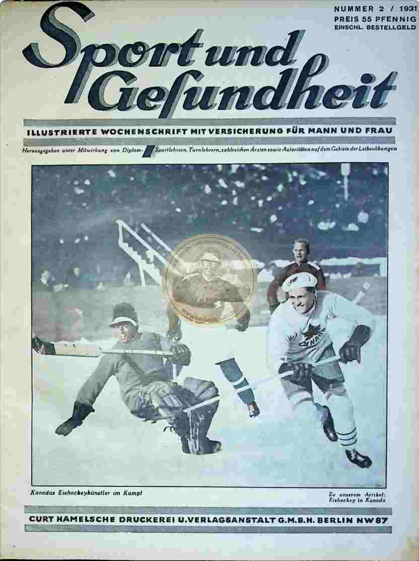 1931 Sport und Gesundheit Nr.2